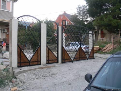 Геленджик ворота распашные ворота с монтажом